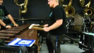 Apple IPhone Ringtone On The Marimba