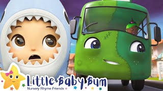 Wheels on the Bus HALLOWEEN | +More Nursery Rhymes & Kids Songs | Song Compilation | Little Baby Bum