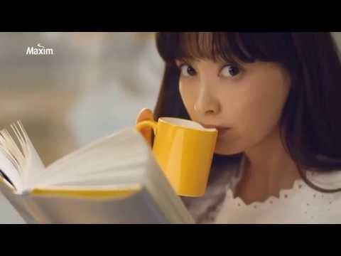 Kim Woo Bin & Lee Na Young for Maxim Mocha Gold