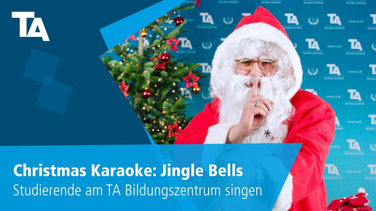 christmas karaoke jingle bells studierende am ta bildungszentrum singen youtube. Black Bedroom Furniture Sets. Home Design Ideas