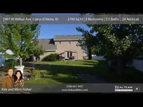 Coeur D'Alene Home For Sale With Theater Room