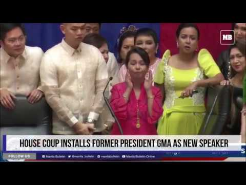 House coup installs former president GMA as new Speaker
