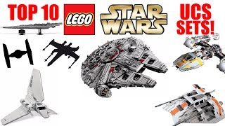 Top 10 LEGO Star Wars Ultimate Collector's Series (UCS) Sets!