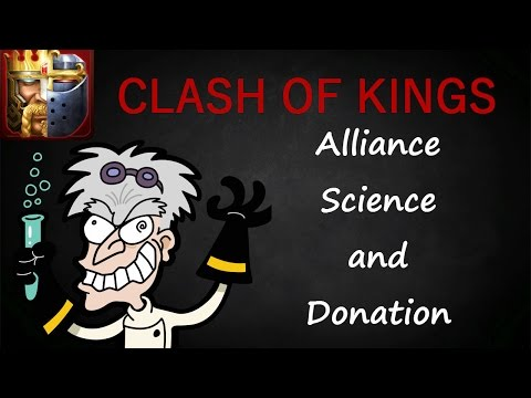 ALLIANCE SCIENCE MASTER (CLASH OF KINGS TIPS AND TRICKS)