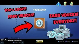 How To Get Free V-Bucks in Fortnite (100% working) 500-600 V-Bucks Everyday on PS4/Xbox one and PC