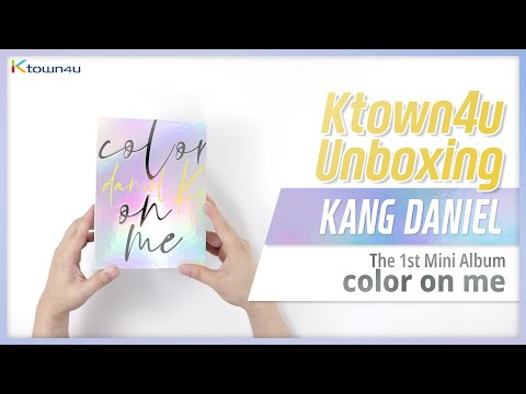 Kang Daniel 1st Mini Album color on me What are you up to Type-2 Photo Card 12