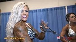 2020 Arnold Amateur USA: Women's Figure  Backstage  Pt.3 Video