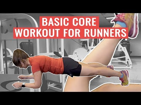 Basic Core Exercises For Runners | HOW TO Build Core Strength
