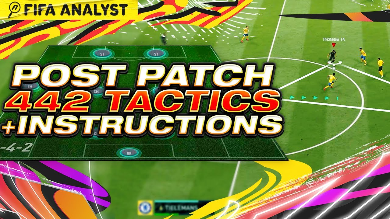 FIFA 21 | POST PATCH 442(2) CUSTOM TACTICS & INSTRUCTIONS | BEST TACTICS FOR ULTIMATE TEAM | FUT 21
