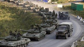 Колонна военной техники под Одессой ( A column of military vehicles near Odessa )