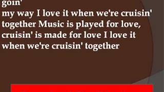 Gwyneth Paltrow - Cruisin Lyrics