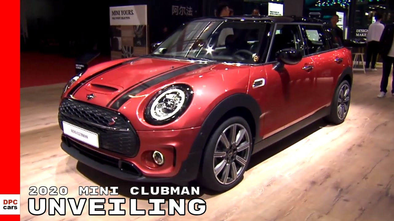 2020 Mini Clubman Unveiling Youtube
