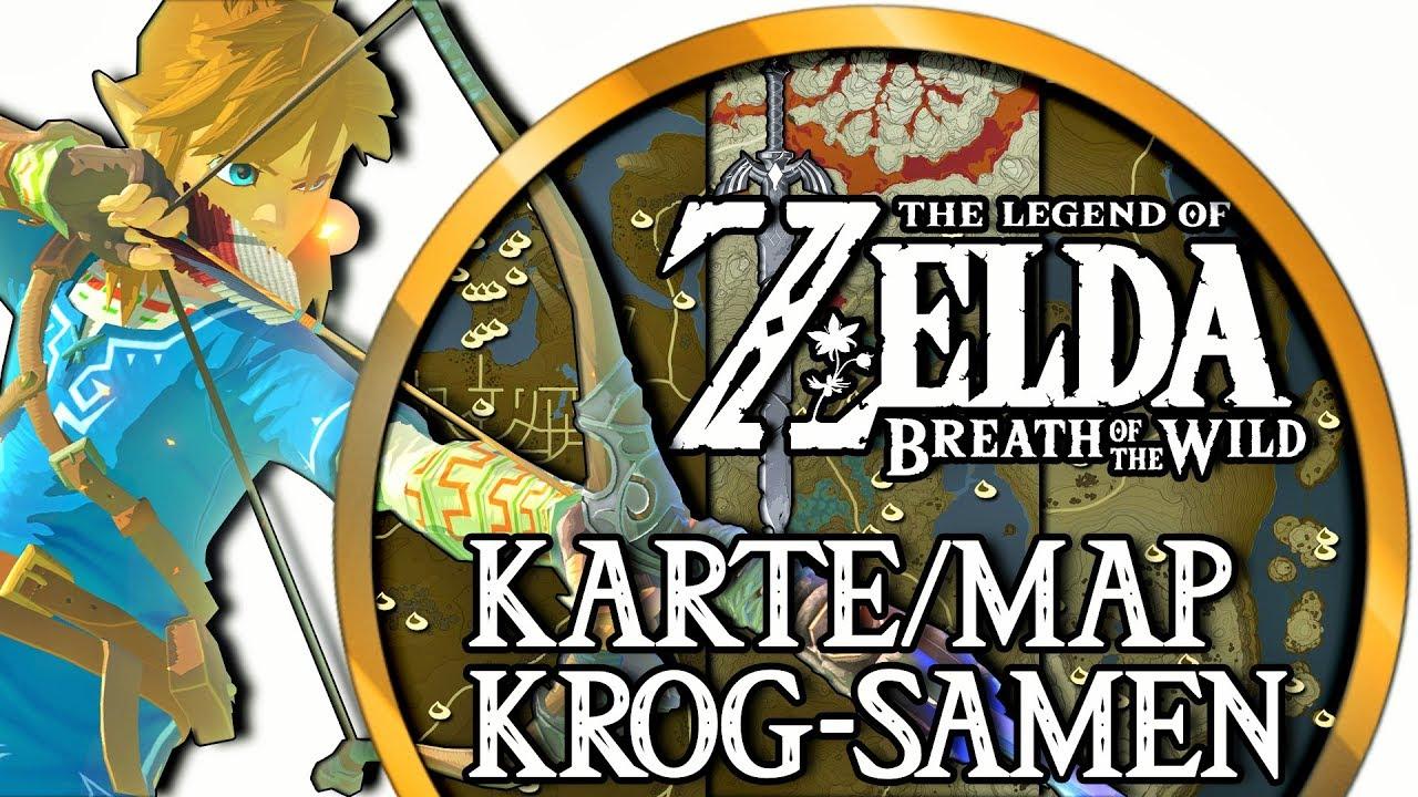 Zelda Krog Karte.Zelda Breath Of The Wild 900 Krog Samen Korok Seeds Krog Samen Karte Korok Seeds Map