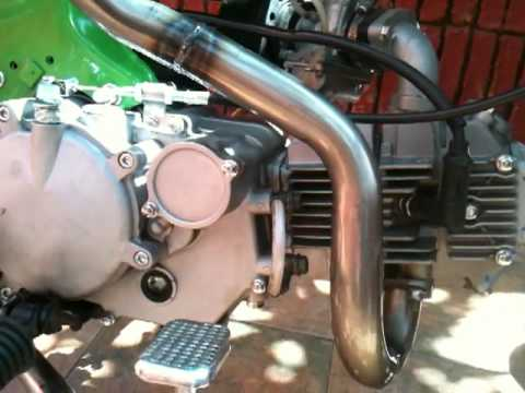 Dax 150cc Dm exhaust Performance.