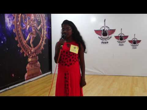 Wings To Fame Bangalore Audition - 1 - 017 - Rakshita Rohith