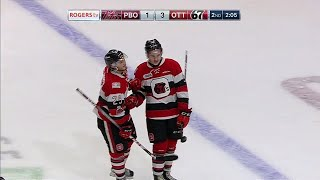 gotta see it 67s clarke scores ohl goal of the year