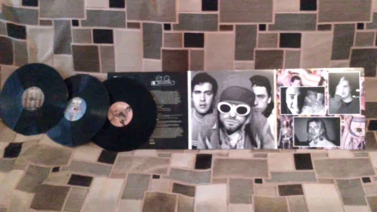 Nirvana In Utero 20th Anniversary 3 Lp Vinyl Youtube
