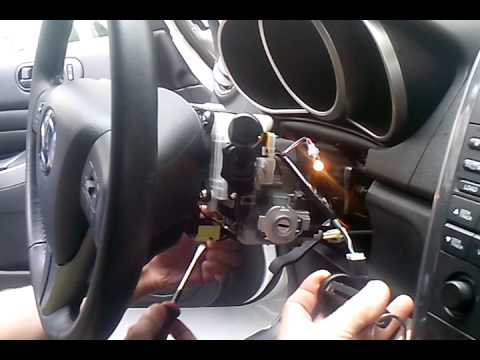 W124   как завести M104 минуя замок зажигания, КПП, сигналку.у)