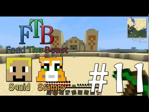 Feed The Beast #11 - Temple Of Goodies!!! - W/Stampylongnose