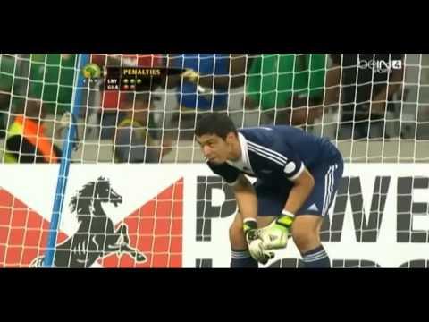 Libya vs Ghana can 2014 Full Penalties
