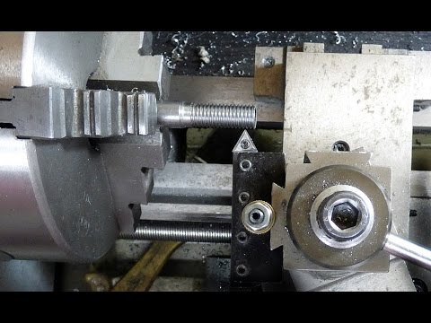 mini lathe cutting a metric thread with a imperial leadscrew youtube Vertical Lathe