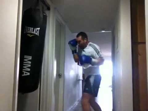 Punching A Heavy Bag In My 5th Floor Apartment Youtube