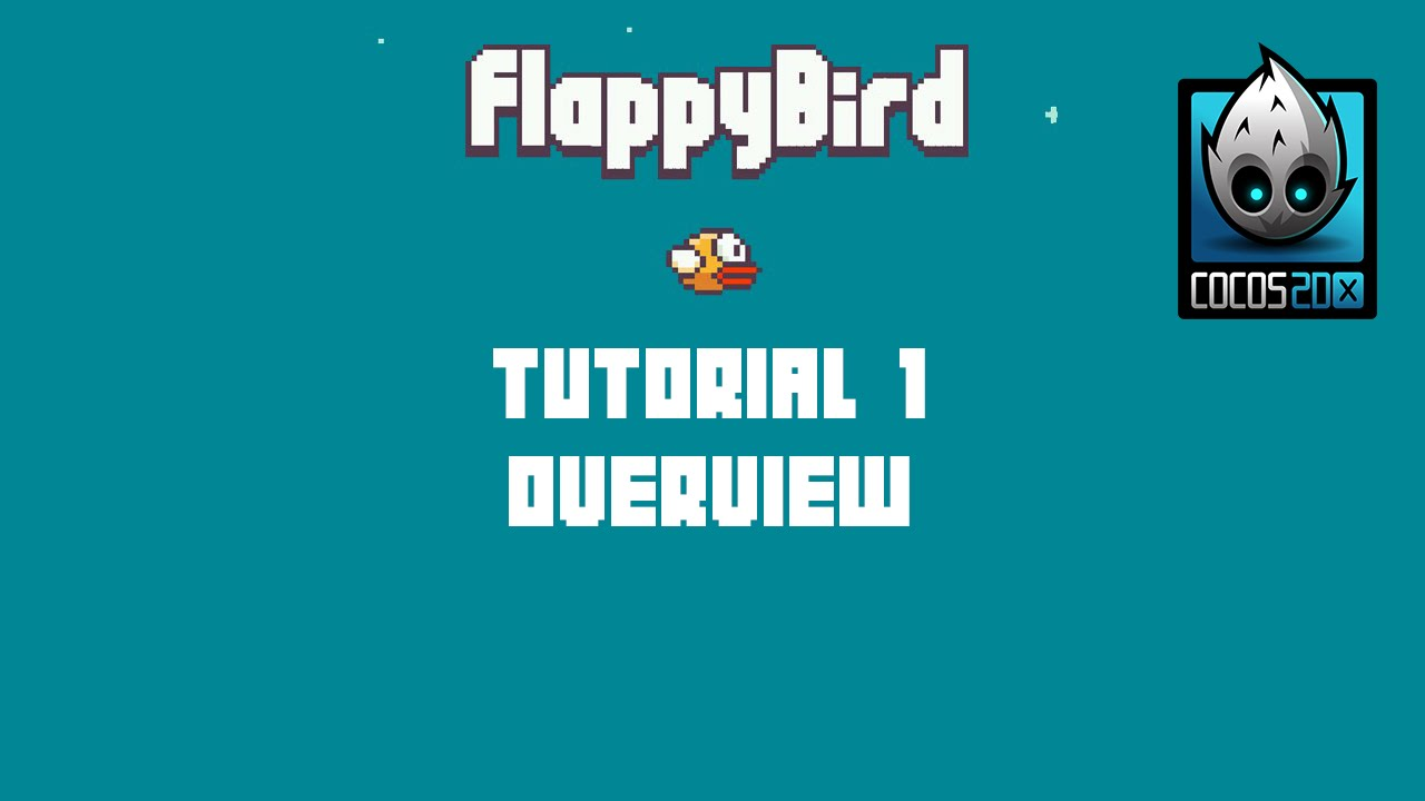 Cocos2d x Flappy Bird C++ Tutorial Series