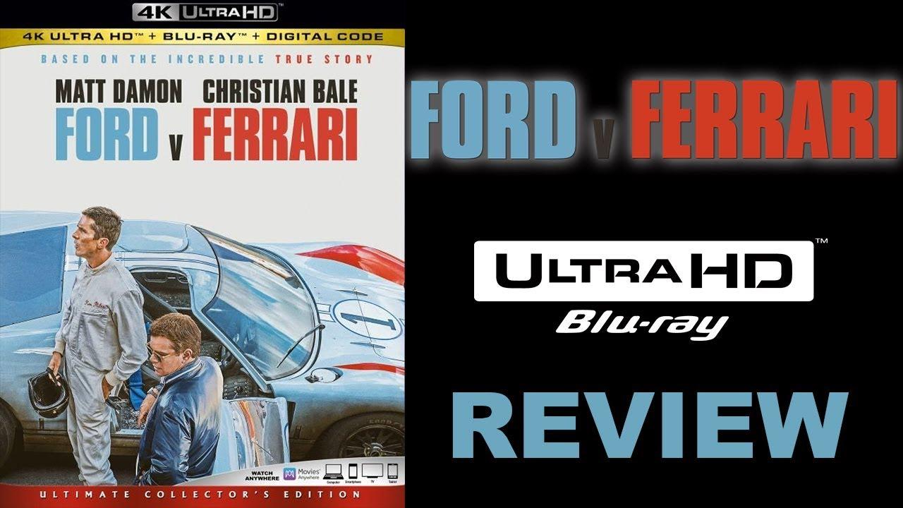 Best Picture Winner Ford V Ferrari 4k Blu Ray Review Youtube