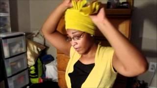 How To Create a Crown Head Wrap