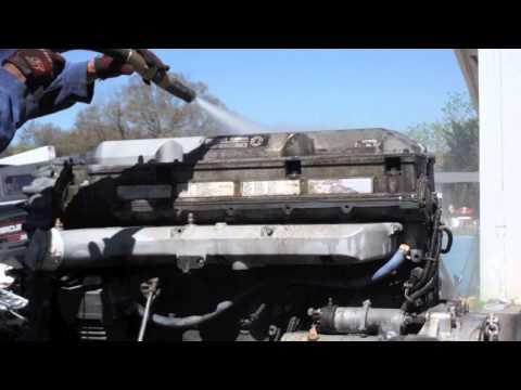 Diesel Engine Dustless Blasting