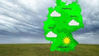 Wetterzweiteilung am Mittwoch (12.02.2019)