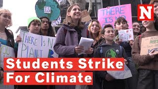 Meet The 13-Year-Old Student Leading The U.S. Youth Climate Strike