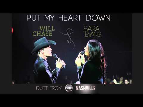 "Sara Evans - ""Put My Heart Down"" Duet with Will Chase from ABC's 'Nashville'"