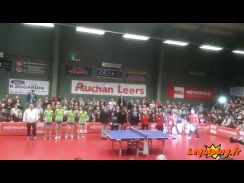 Club Pongiste Lyssois Lille Métropole vs. Bursa Büyükşehir Belediyespor