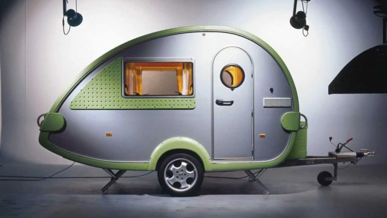 Stylish Green T@B Teardrop Trailer