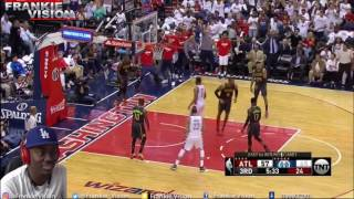 Hawks vs Wizards Playoffs Rd.1 Gm. 1 // 4.16.17 // Reaction