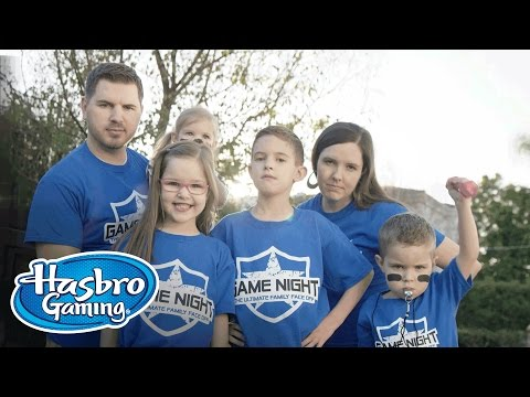 Hasbro Game Night - J House Vlogs Challenges 8 Passengers