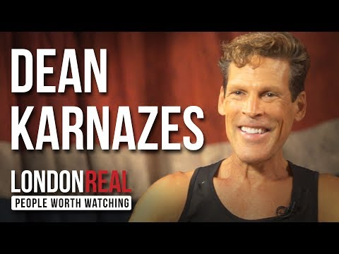 DEAN KARNAZES - THE ROAD TO SPARTA - PART 1/2 | London Real