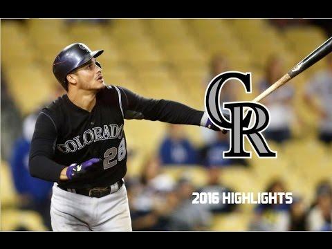 Nolan Arenado | 2016 Highlights