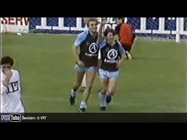 1985-1986 - Beker Van België - 01. 32ste Finale - Verbroedering Geel - Club Brugge 0-3