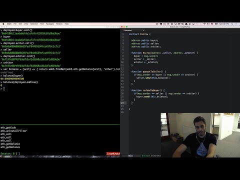 Ultimate Intro to Ethereum Ðapp Development [Part 8] - Smart Contracts - Escrow