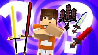 Minecraft: TROCA -  QUAL A MELHOR ESPADA ? - Lucky Block Ore Spawn ‹ Ine ›