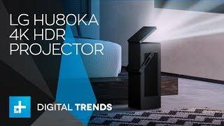 LG debuting HU80KA 4K UHD projector with HDR at CES 2018