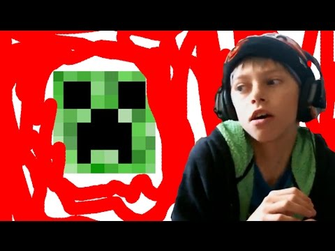 Super Minecraft Kid Stop Hating On FNaF Review YouTube