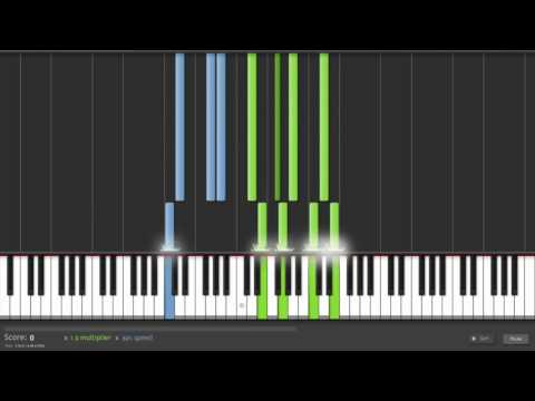 How To Play Christmas Lights By Coldplay On Piano