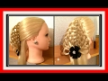 3D CHRISTMAS TREE LACE BASKET BRAID HAIRSTYLE / HairGlamour Styles /  Hairstyles / Hair Tutorial