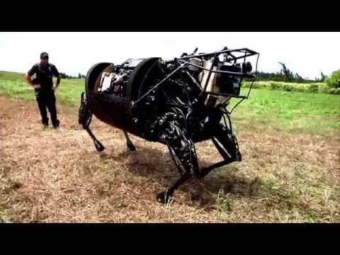 Marines' New Equipments - LS3 Robot, GUSS Autonomous Vehicle, Tactical Tele-Medicine.