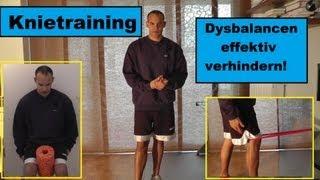 Gesunde Knie! - 3 Übungen, um die Kniescheibenführung zu verbessern & Dysbalancen zu verhindern!