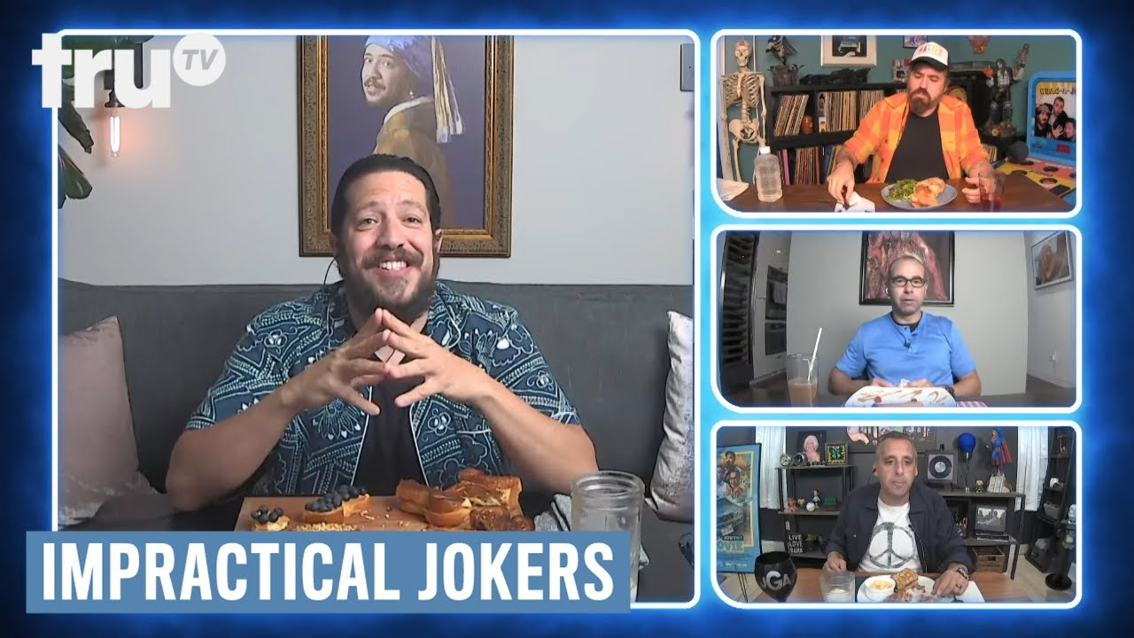 Download Impractical Jokers: Dinner Party - Sal's First Crush was Alyssa Milano (Clip) | truTV