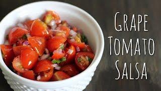 Grape Tomato Salsa